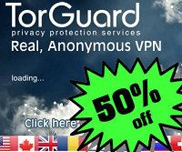 TorGuard is celebrating the end of summer with a 50% Lifetime discount coupon,  Coupon Code: TGLifetime50 Discount: 50% Lifetime discount on 1 Year VPN and Proxy plans  1 Year VPN Plan – Previously price is $59.95 | Now only $29.99 1 Year Proxy Plan – Previously price is $46.95 | Now only $23.47  http://www.bestvpnserver.com/vpn-coupon/