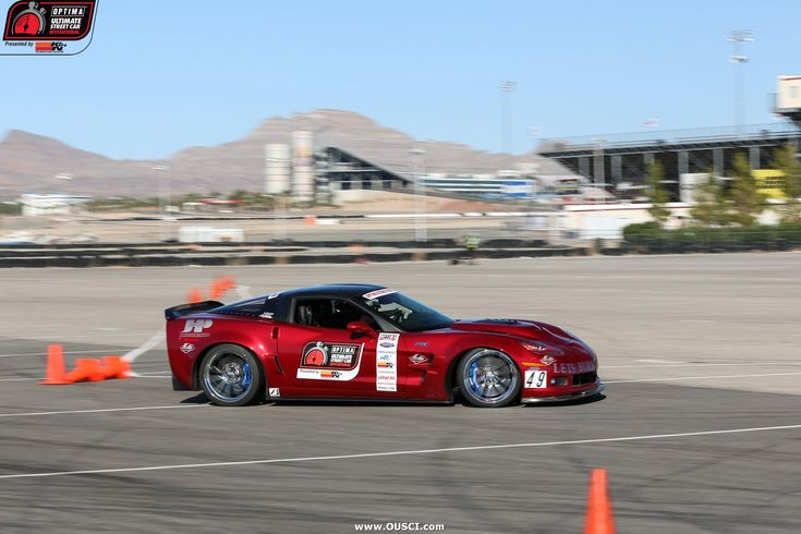 Toby Thompson's 2010 #Corvette at the 2016 #OUSCI