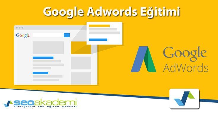 Google Adwords Eğitimi Türkiye'nin en iyi eğitmenlerinden Google reklam kampanyaları oluşturma, tıklama başına maliyet, gelir raporlama ve kampanya yönetimi. http://www.seoakademi.com.tr/egitimler/google-adwords-egitimi/