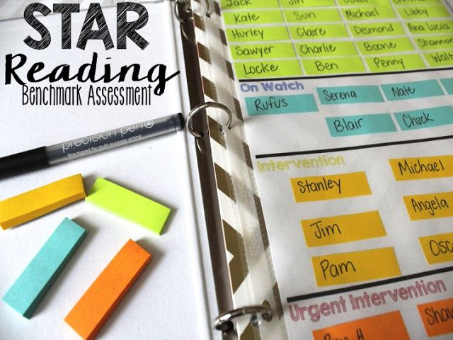 Life in Fifth Grade: Tracking Your Students' Benchmark Assessments (STAR Reading)