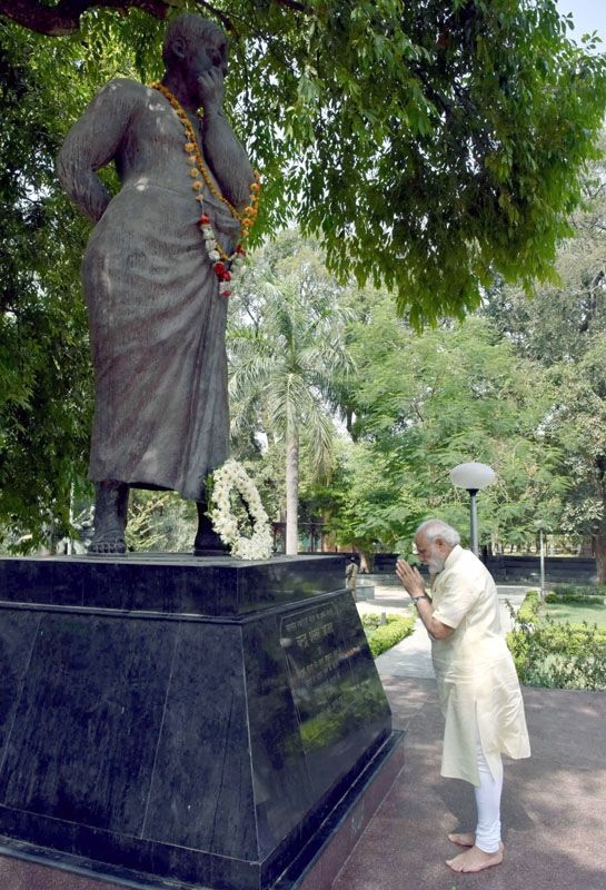 The First Mail | Modi Paying Tributes To Great Chandra Shekhar Azad
