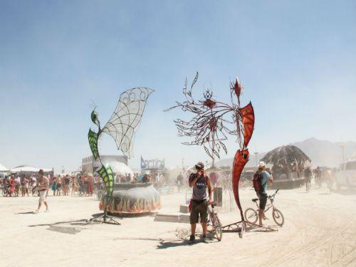 Burning Man, Çölde Dünyanın En Çılgın Sanat Festivali Yazan: Eda Aksoy / Eda Aksoy / Yazarlar / Ekavart.tv