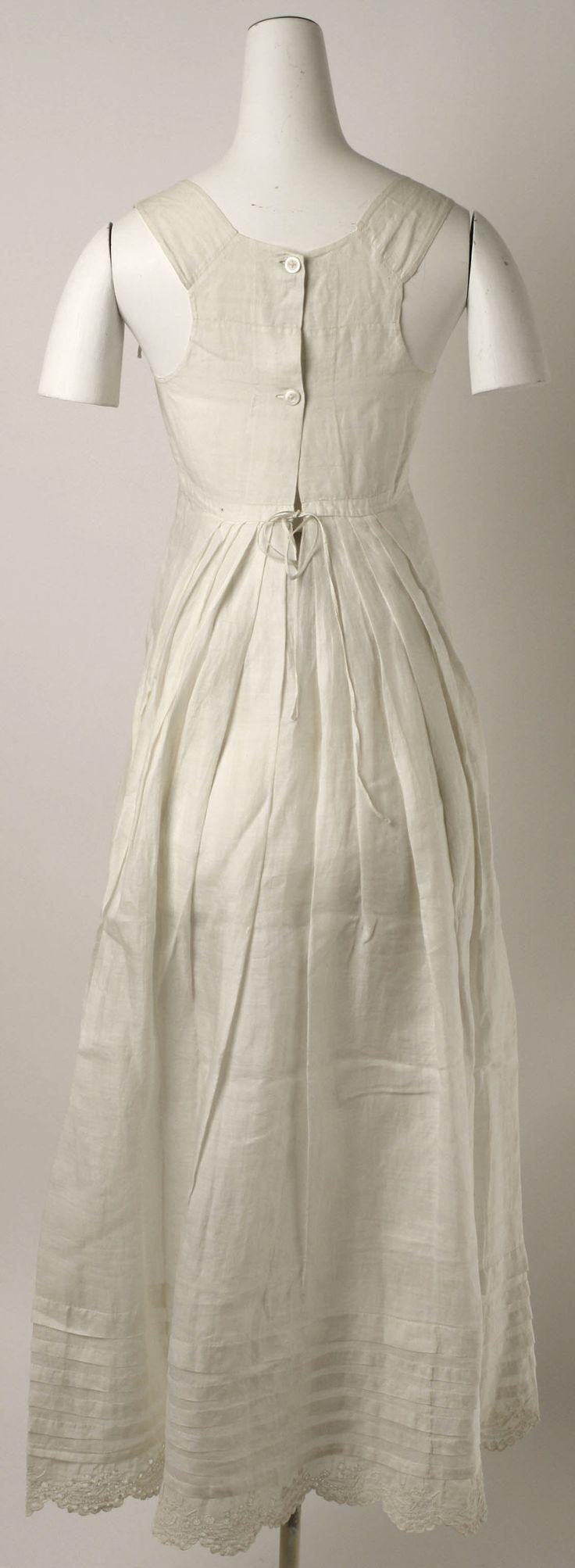 Petticoat: ca. early 19th century, American, linen.