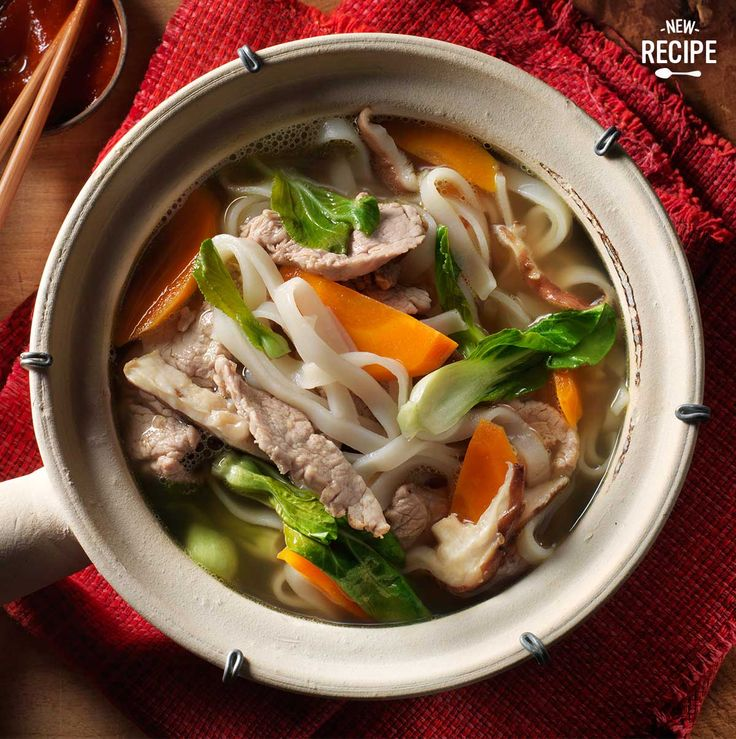 Happy Lunar New Year! We're celebrating with our Chinese Longevity Soup.