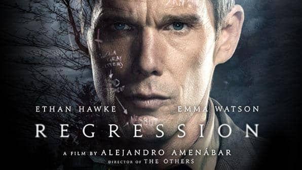 Regression, Movie on BluRay, Suspense