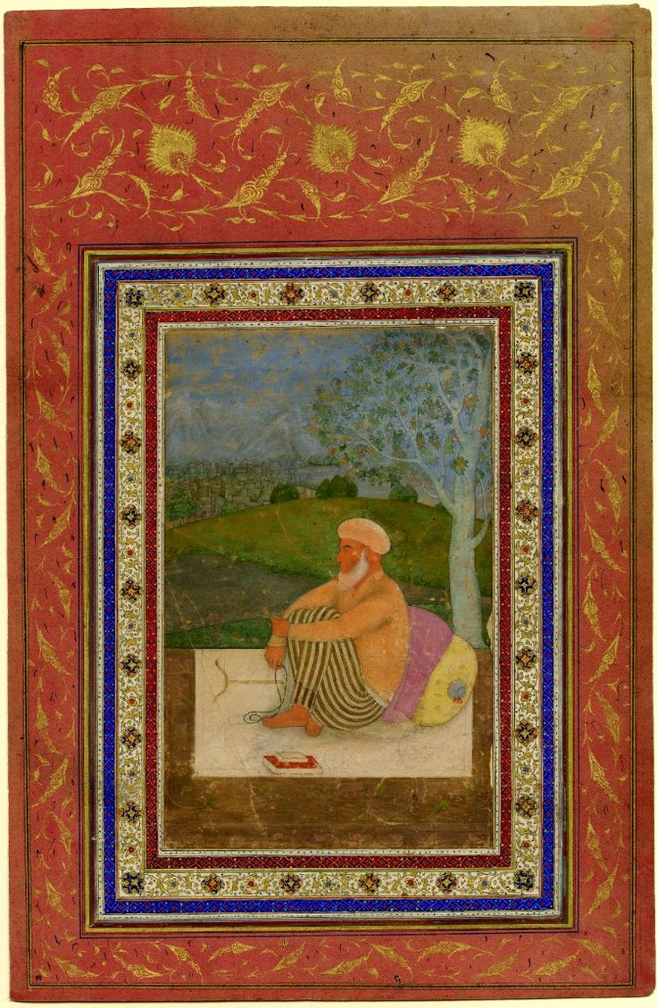 Dervish seated under a tree