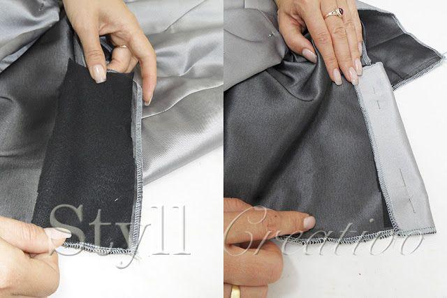Styll Creativo - Taller de costura: Tutorial falda tubo, corte y confección