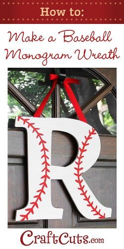 Baseball crafts and a pin-it party