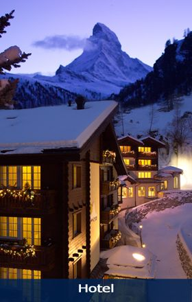 Hotel Sonne Zermatt - 4* single room 160 CHF with wifi but  no breakfast. Spa, pool and jacuzzi. Non-refundable booking.