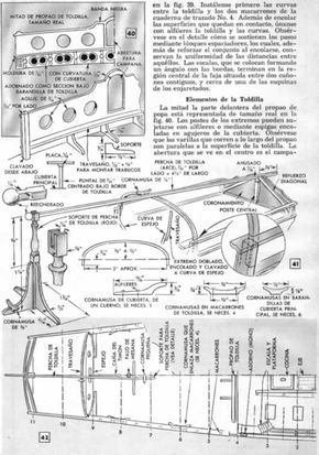 Un Modelo Del Chebec Frances - Parte III - Mi Mecánica Popular