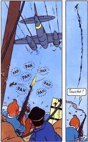 Tintin la joue à la Stallone