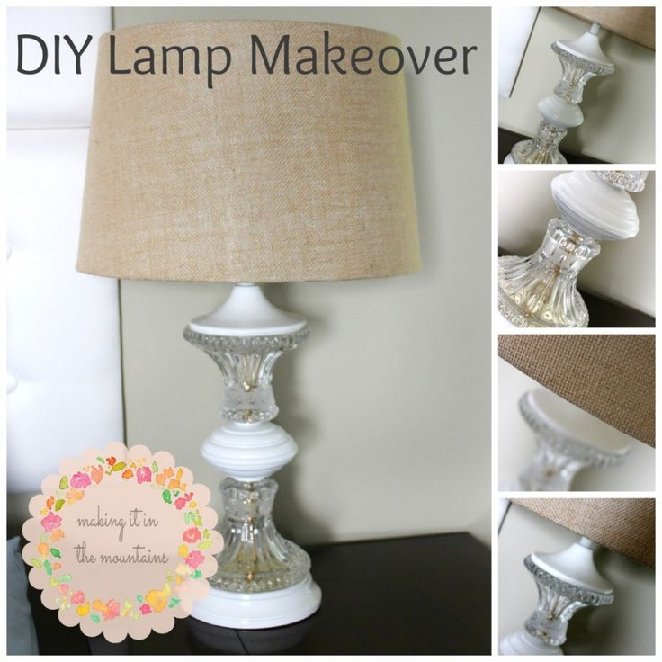 I've been planning some sort of revamp for these table lamps since my Mom passed them down to me. See how I gave them a lamp makeover!!!