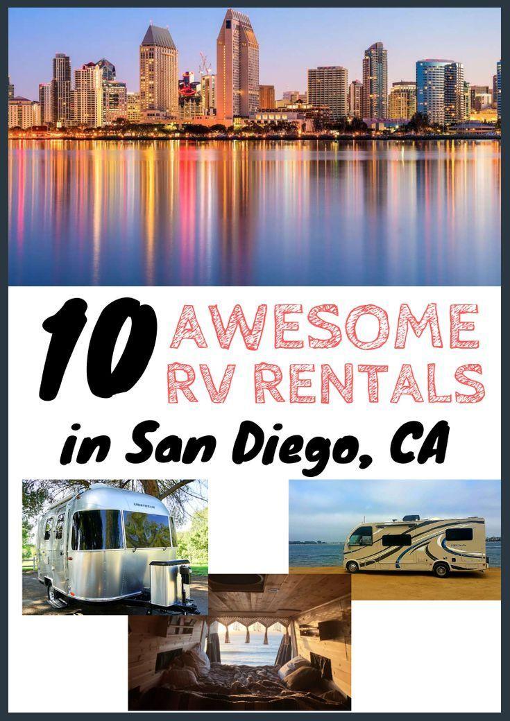 10 Best Camper Rv Rentals In San Diego Ca Rv Rental Camping San Diego Rv