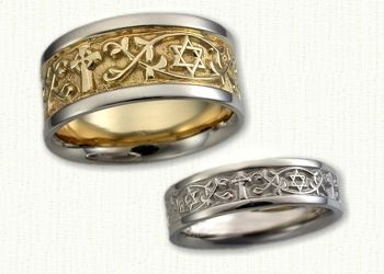 Religious Designed Custom Wedding Rings Create Your Own Affordable Unique Gold Ring Designs