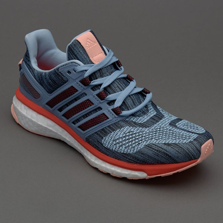 adidas Womens Energy Boost 3 - Easy Blue S17/Easy Coral S17/Haze Coral S17