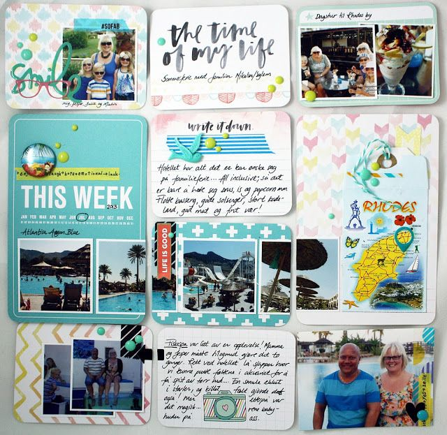 """Anma.no - Blog - """"The time of my life"""" page created by Dt Linda."""