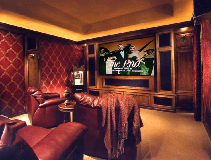 Living Room Theater Portland Oregon Custom Inspiration Design
