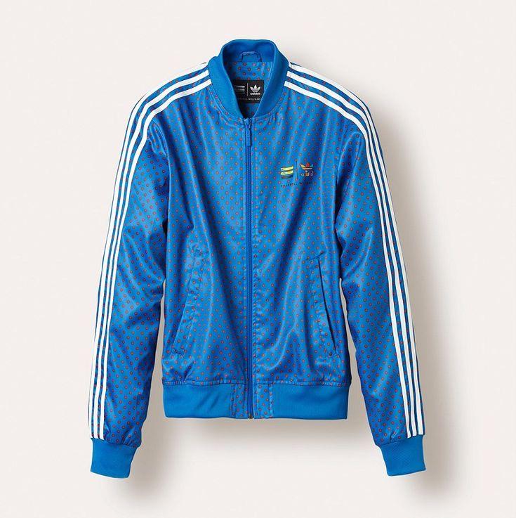 Blouson adidas Superstar bleu