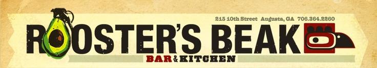 Roosters Beak :: Bar & Kitchen :: Augusta, Georgia