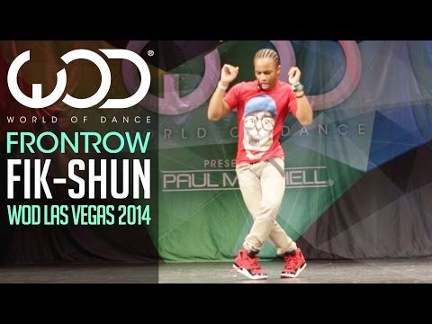 "Dancer Fik-Shun Moves Like a Glitchy Dance Robot in an Astonishing Performance | Hip-hop dancer Du-Shaunt Stegall –known also as ""Fik-Shun""– pops and locks like a glitchy dance robot in an astonishing performance at a World of Dance event in Las Vegas back in December 2014. We previously posted about his remarkable performance at a 2013 World of Dance event."