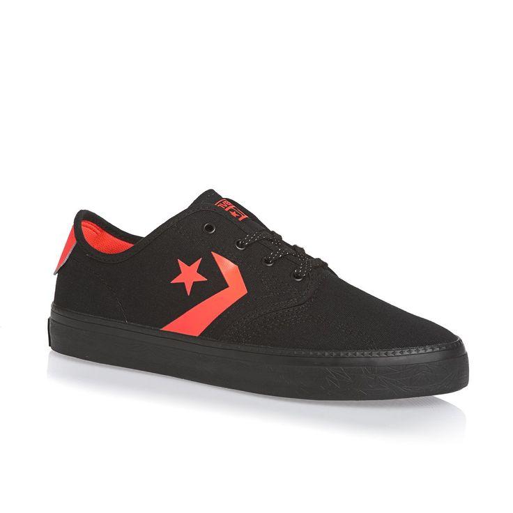 Converse Star Player Shoes - Black/Lava