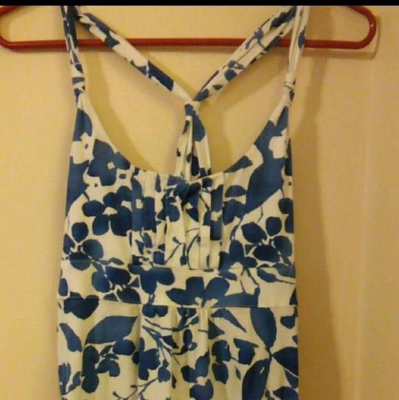 * Final Sale Price*  American Eagle halter Blue and white AE American Eagle Outfitters Tops