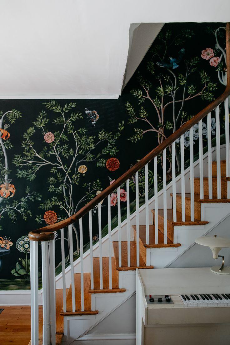 боюсь что оформление лестницы стен фотообои зависимости площади участка