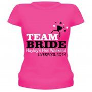 Team Bride Personalised T-Shirt/Vest Top