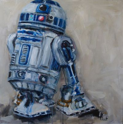 """still life with a droid"" Seabastion Toast 2015 www.theartoftoast.com www.facebook.com/theartoftoast"