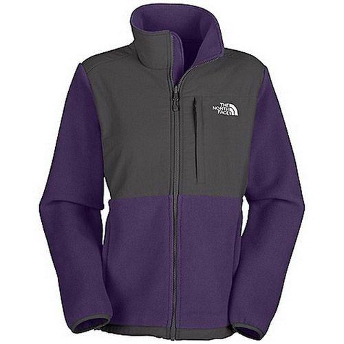 Womens The North Face Denali Fleece Jacket Lion Purple