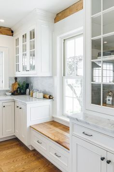 Ideas for odd-shaped kitchen with awkward low window? - Kitchens ...