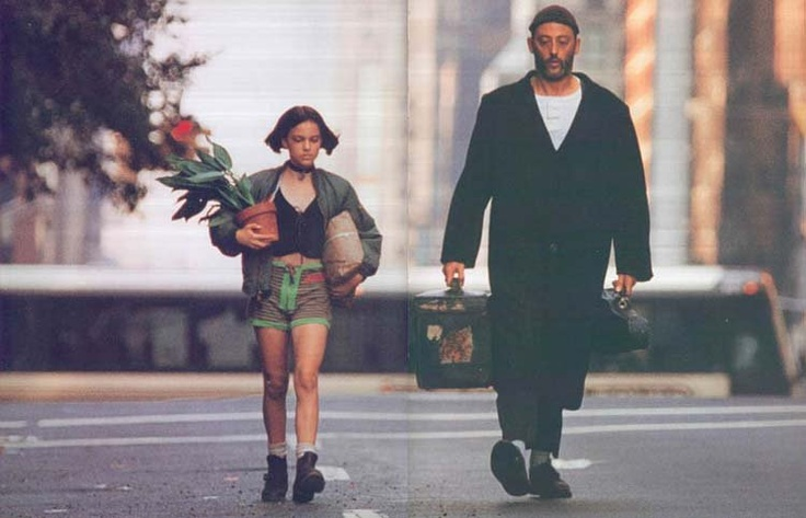 A young Natalie Portman in Léon, or the Professional.
