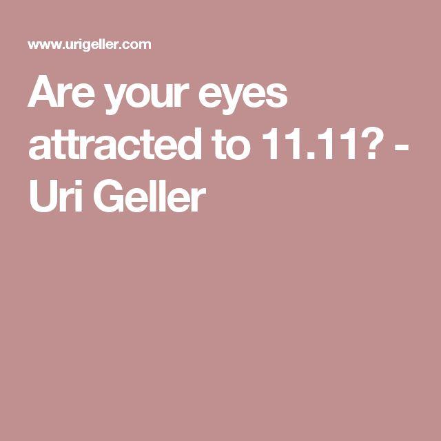 Resultado de imagen para uri geller 11:11