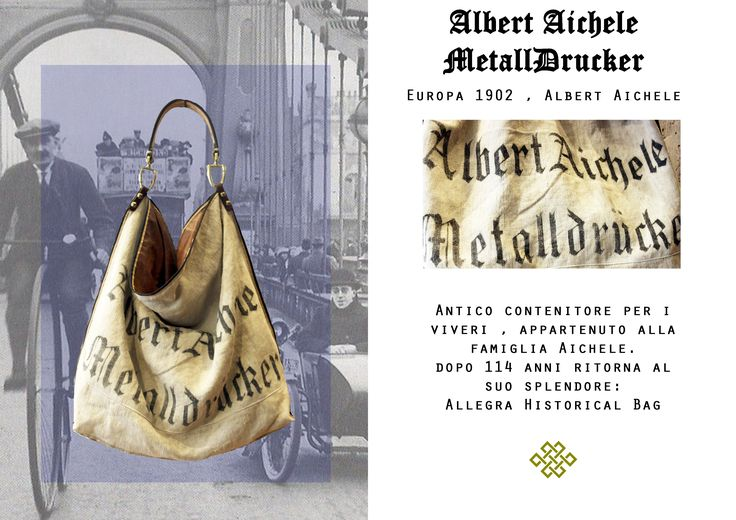 ALLEGRA HISTORICAL BAG  from old sac 1902 www.lasellerie.net