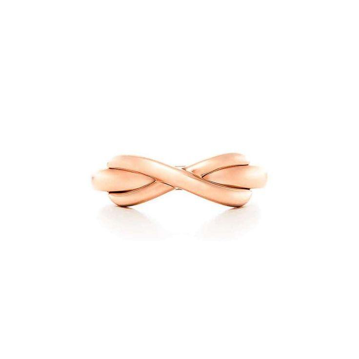 Anelli di fidanzamento in oro rosa - Tiffany Infinity in oro rosa