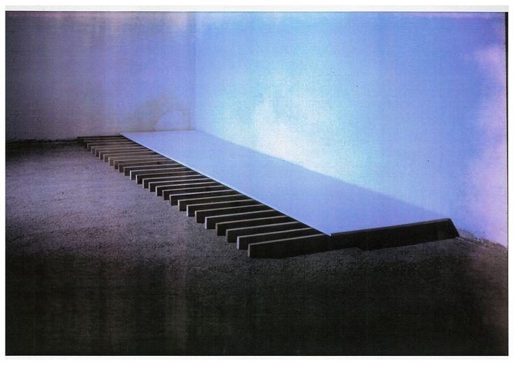 Jan Stolín, Installation, Academy of Arts, Architecture and Design in Prague, 1990