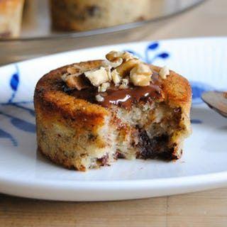 Udnyt, hvis du har kedelige, brune bananer liggende, og nyd ellers en dag med lækre muffins
