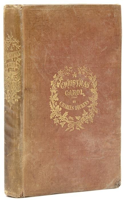 A Christmas Carol  Charles Dickens. first edition, first issue, 1843.: