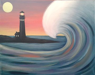Adults Paint Night   Rutherfurd Hall   Cultural Center   Museum    NJ Wedding Venue   Events