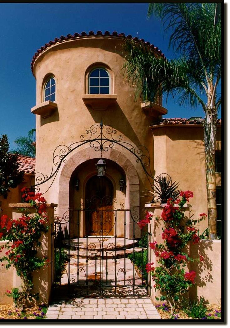 17 best images about california spanish homes on pinterest for Spanish mediterranean architecture