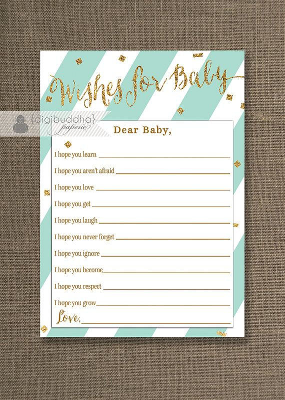 18 best mint and gold baby shower ideas images on pinterest   mint, Baby shower invitations