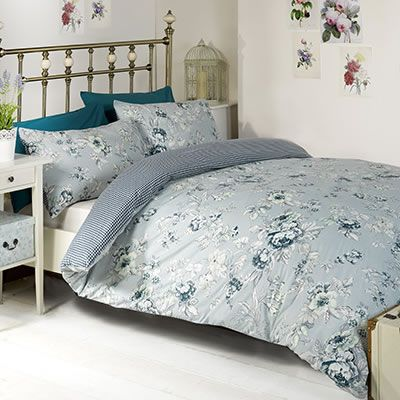 chelsea blue duvet set