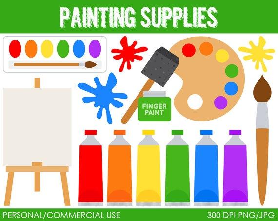 art supplies clip art - photo #27