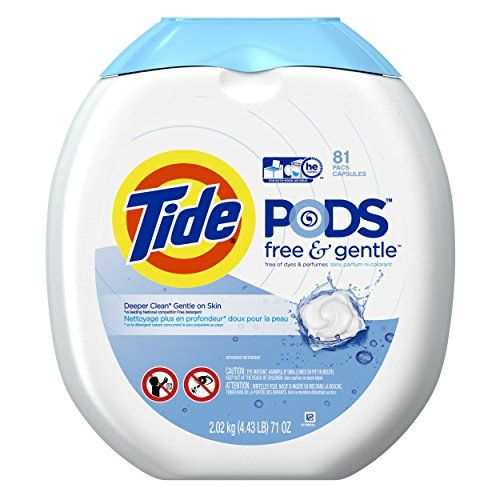 #Amazon: 81-Count Tide PODS Free & Gentle HE Turbo Laundry Detergent Pacs $13.35 or less  free shipping (prime ... #LavaHot http://www.lavahotdeals.com/us/cheap/81-count-tide-pods-free-gentle-turbo-laundry/73825