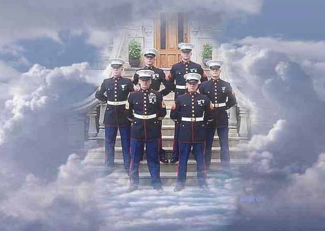 Image result for pics marines guarding the gates of heaven