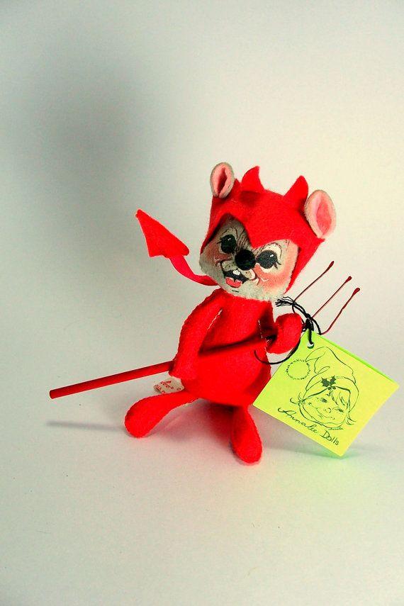 Devil Mouse Valentine Annalee Mobilitee Devil by VintageVarietee
