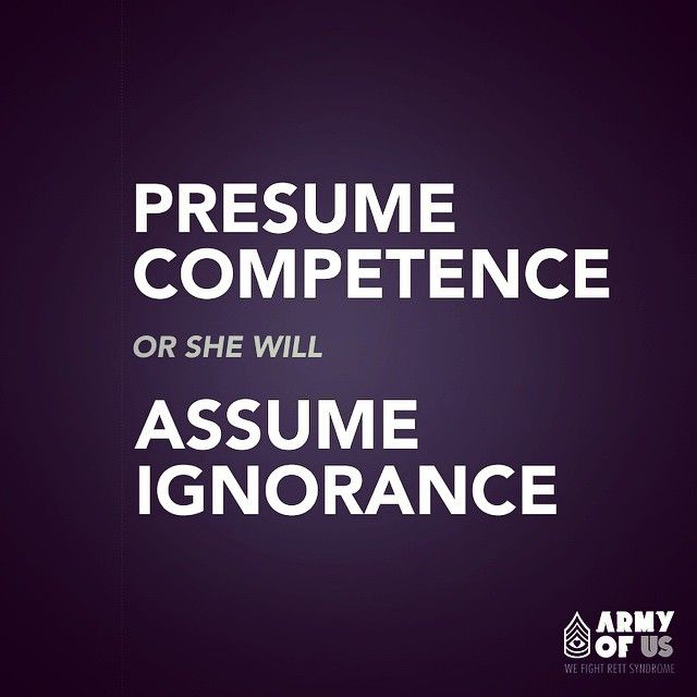 15 best Presume Competence images on Pinterest Training quotes - assume and presume