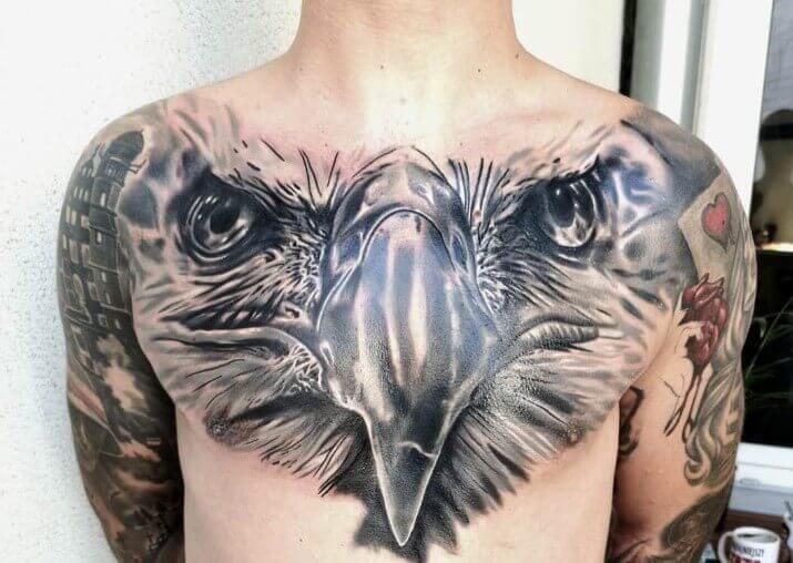 15 Best Eagle Head Tattoo Designs Petpress In 2020 Eagle Head Tattoo Head Tattoos Tattoos