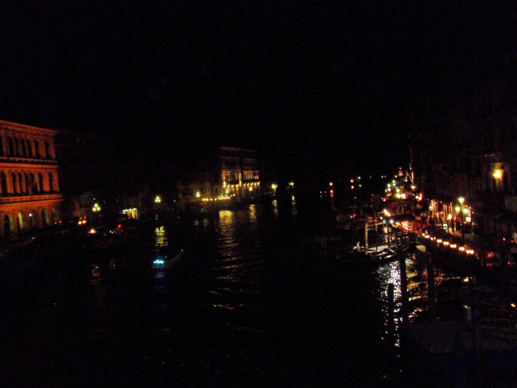 Venice, Italy : by night, the romantic city of water