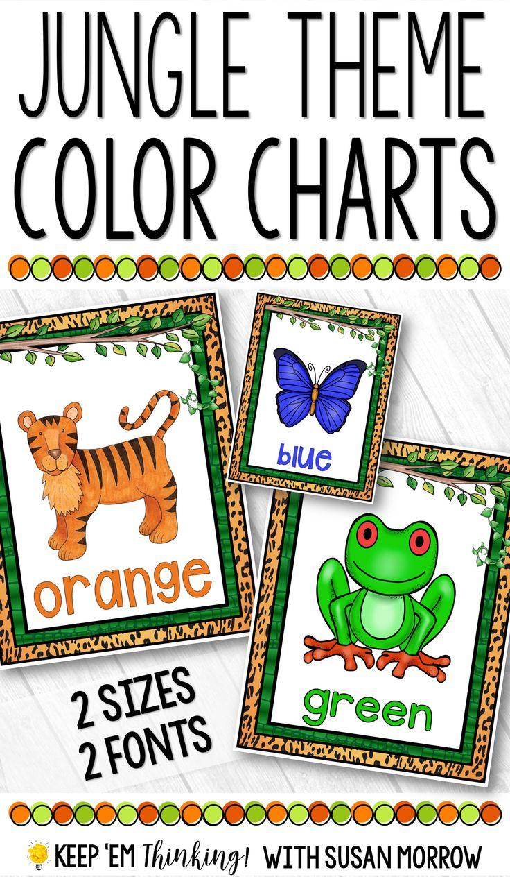 334 best Color Recognition images on Pinterest | Preschool ...